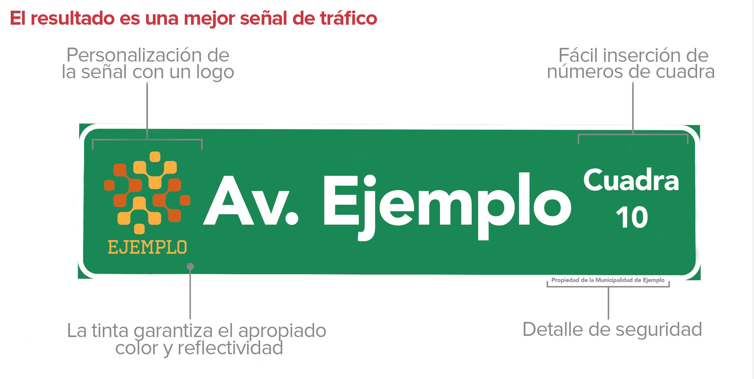 Impresora digital para señales de tráfico TrafficJet 4