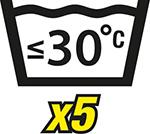 WASH 30x5